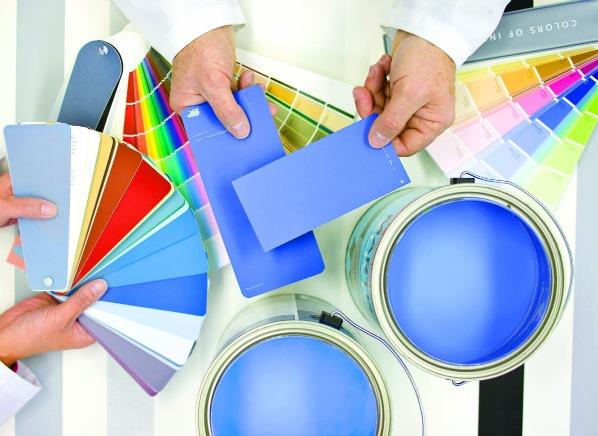 Interior-paint-samples